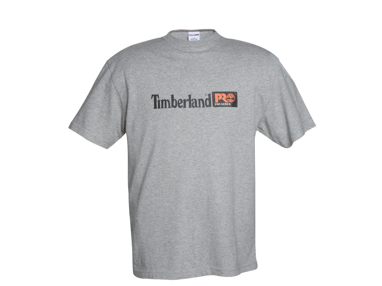 T shirt a manica corta con logo grigia 306 safety shop for Safety t shirt logos