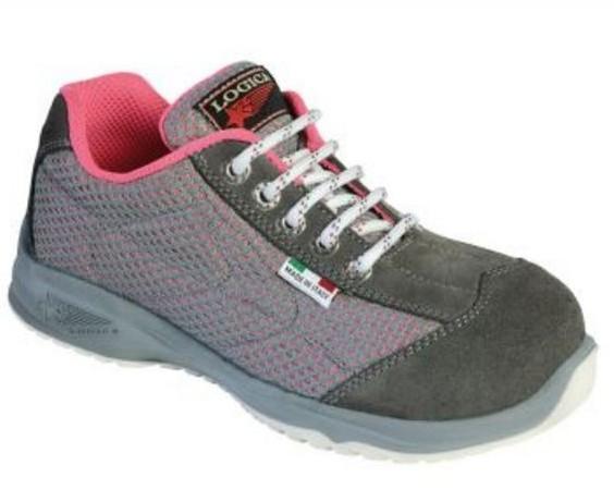 Scarpa scarpa bassa rete grigia donna tahiti lady logica for Rete ombreggiante grigia