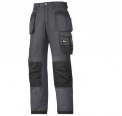 Pantaloni estivi in Rip-Stop, tasche esterne nero