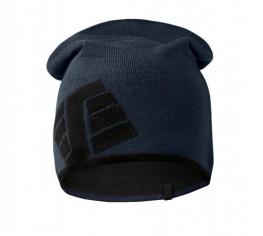 Berretto reversibile navy/nero